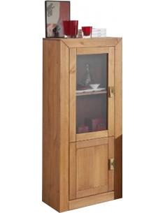 Bodeguero 1 puerta cristal + 1 puerta de madera AIHAB