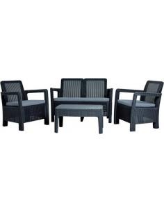 Mesa y 3 sillones TLOUNGE...