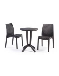 Mesa y 2 sillas BISTRO