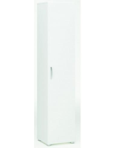 Armario multiusos 1 puerta + 3 estantes IBOC